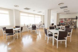 sala de actividades del centro de dia ilustracion