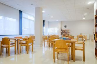 sala de terapia residencia mayores loramendi