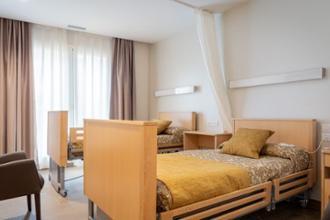 habitación doble residencia san martin