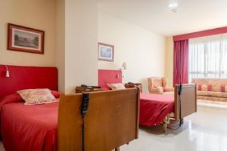 habitacion doble residencia santander