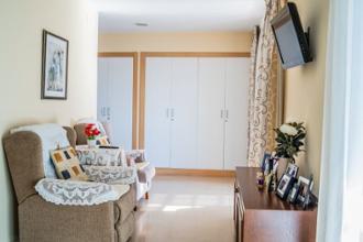 detalle de habitación residencia mayores tarragona
